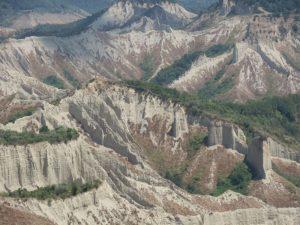 Valle dei Calanchi vista da Civita di Bagnoregio verso nord est - Photo by Fedefabi