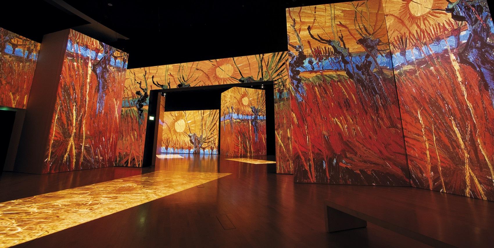 """""""Van Gogh Alive – The Experience Roma"""": una mostra? No, un'esperienza! – sino al 26 marzo 2017, Roma"""