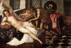 Venere, Marte e Vulcano - Tintoretto 1551