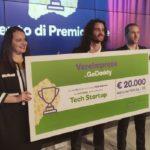 Concorso Vere Imprese: ecco i tre vincitori della prima edizione
