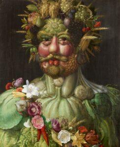 Vertumno - Painting by Giuseppe Arcimboldo