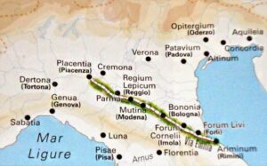 Via Emilia - Impero romano