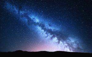 Via Lattea fotografata dalla Terra