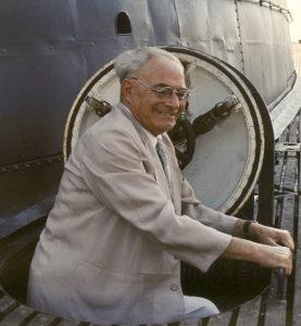 Vittorio Giovanni Rossi nel 1965