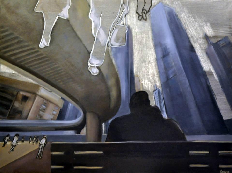 """""""Trappole urbane"""" mostra di Cristina Caimi, dal 27 dicembre al 6 gennaio 2014, Madesimo"""