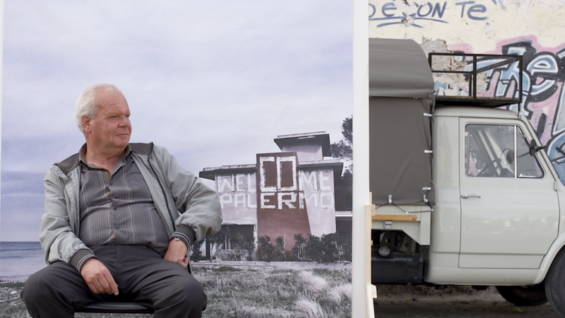 """""""Welcome Palermo"""" lungometraggio dei Masbedo: la testimonianza della grandezza della città in rapporto al cinema"""