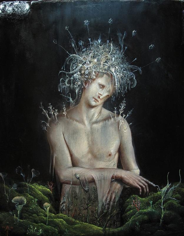 """""""Agostino Arrivabene – Vesperbild"""" in mostra presso la Galleria Giovanni Bonelli, sino al 26 luglio, Milano"""