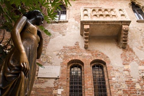 Verona: la casa di Giulietta in estate