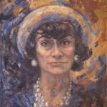 Coco Chanel: un nuovo ritratto dipinto da Marion Pike, in mostra dal 6 dicembre al 2 marzo 2014, Milano