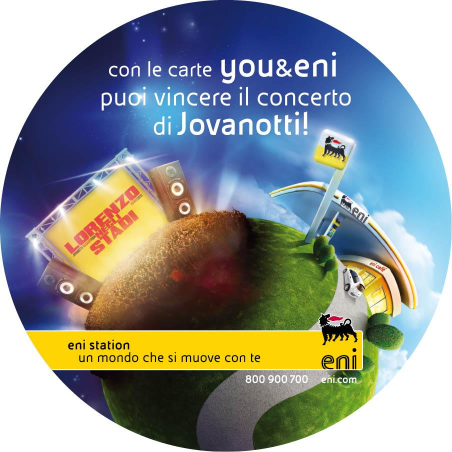 Concorso you&eni: vinci 240 biglietti backstage per il Tour estivo di Jovanotti