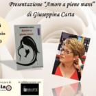 """Presentazione de """"Amore a piene mani"""" di Giuseppina Carta, 12 gennaio 2018, Circolo La Marina Sankara, Cagliari"""