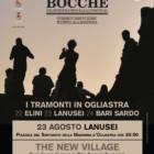 """The New Village live con i Tenores di Bitti per la penultima data di """"Tramonti di Musica"""", 23 agosto, Lanusei"""