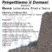 """""""Progettiamo il domani"""" presenta Mamù: Letteratura, Pirati e Teatro, 17 febbraio 2013, Cagliari"""