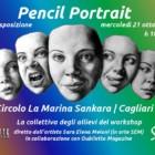 Pencil Portrait: la collettiva degli allievi del workshop, 21 ottobre 2015, Circolo La Marina Sankara, Cagliari
