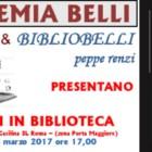"""Presentazione """"Il lungo viaggio dell'anima"""" di Cinzia Rinaldi, 8 marzo 2017, Accademia Gioachino Belli di Roma"""