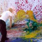 Shozo Shimamoto, in mostra presso lo studio Giangaleazzo Visconti, sino al 31 gennaio 2014, Milano