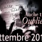 """Concorso Nazionale Letterario """"Anche tu su Oubliette"""" – mese di Settembre 2011"""
