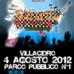 """III Edizione del """"Gazzello Rock Festival"""", 4 agosto, Villacidro"""