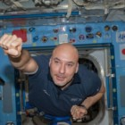 L'astronauta Luca Parmitano saluta La Notte Europea dei Ricercatori 2013 con Ciao Bologna