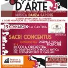 """""""Sorsi d'arte"""", rassegna tra arte ed enogastronomia, dal 19 gennaio al 9 febbraio 2014, Serrenti"""