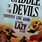 """The Saddle of the Devils"" in concert e Live Painting, 23 novembre 2012, Idioteque, Cagliari"