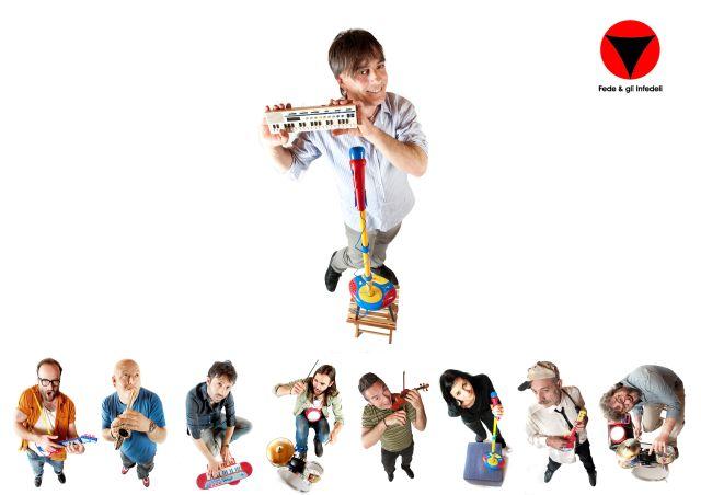 """""""Gita per bambini"""", nuovo album della band Fede & gli Infedeli: riflessioni psicologiche sotto uno strato di ironia"""