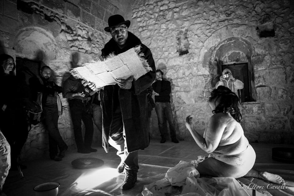 """""""Visibilità"""", quarta lezione del progetto d'arte contemporanea Six Memos, 21 dicembre 2012, Cagliari"""
