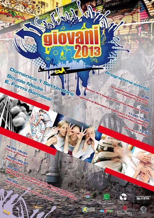 """""""Giovani2013"""": arte e crescita per i giovani di Samassi, domenica 1 settembre"""