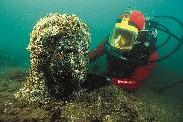 Scoperta Heracleion: città egizia nascosta nel Mediterraneo per 1200 anni