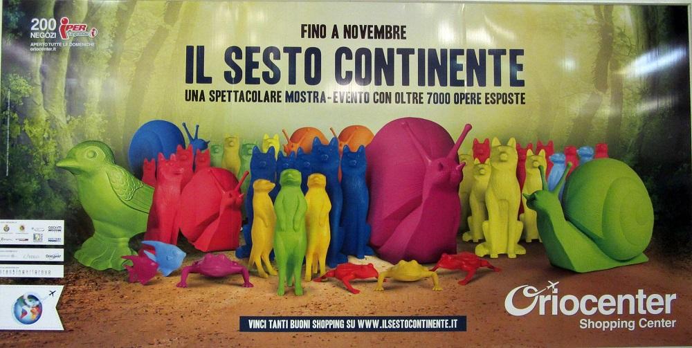 Animali Di Plastica Da Giardino.Cracking Art Il Sesto Continente In Mostra Con L Invasione Degli Animali Di Plastica Colorati Fino A Novembre A Bergamo Oubliette Magazine