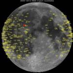 Meteorite impatta la Luna: esplosione luminosa visibile ad occhio nudo