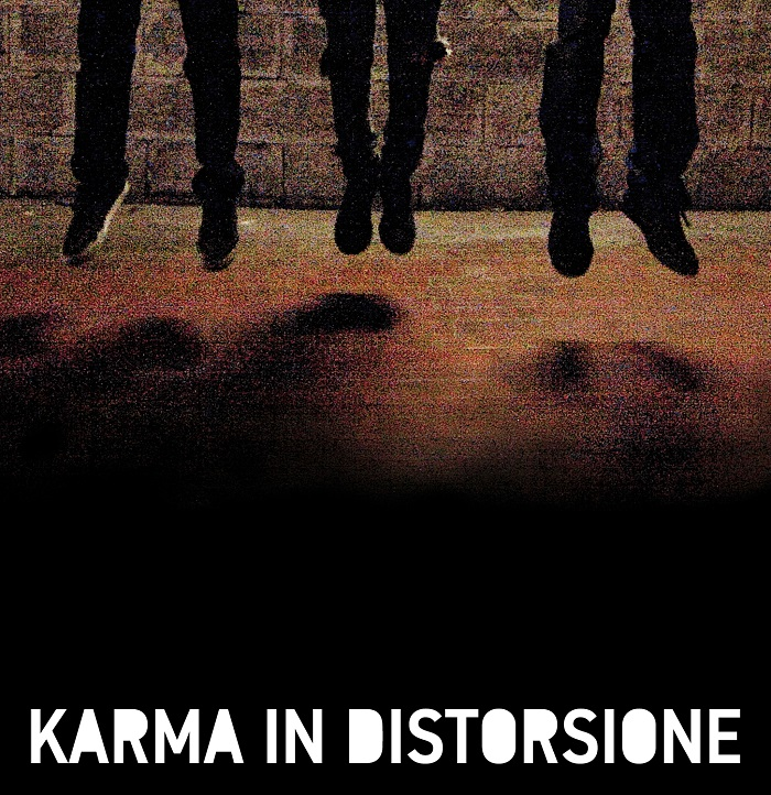 """Karma in Distorsione"", album esordio del trio punk rock omonimo"