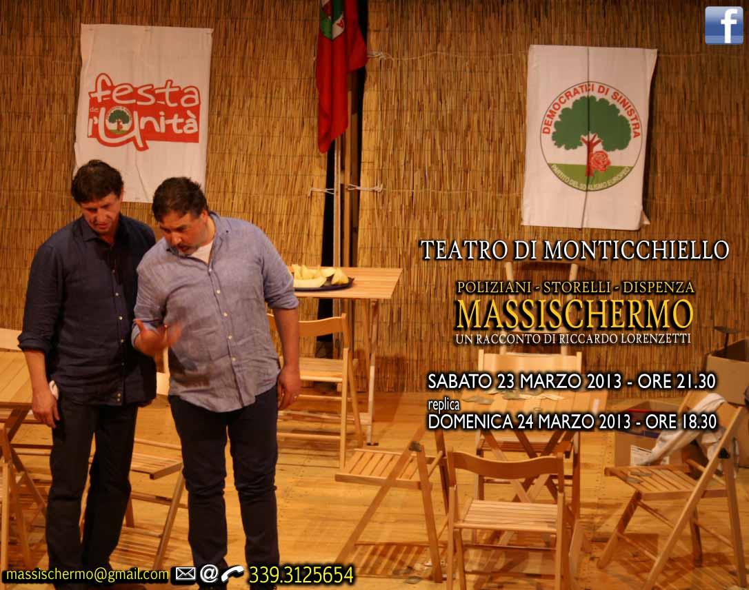 """Apre la quarta stagione di """"Massischermo"""", 23 – 24 marzo 2013, Siena"""