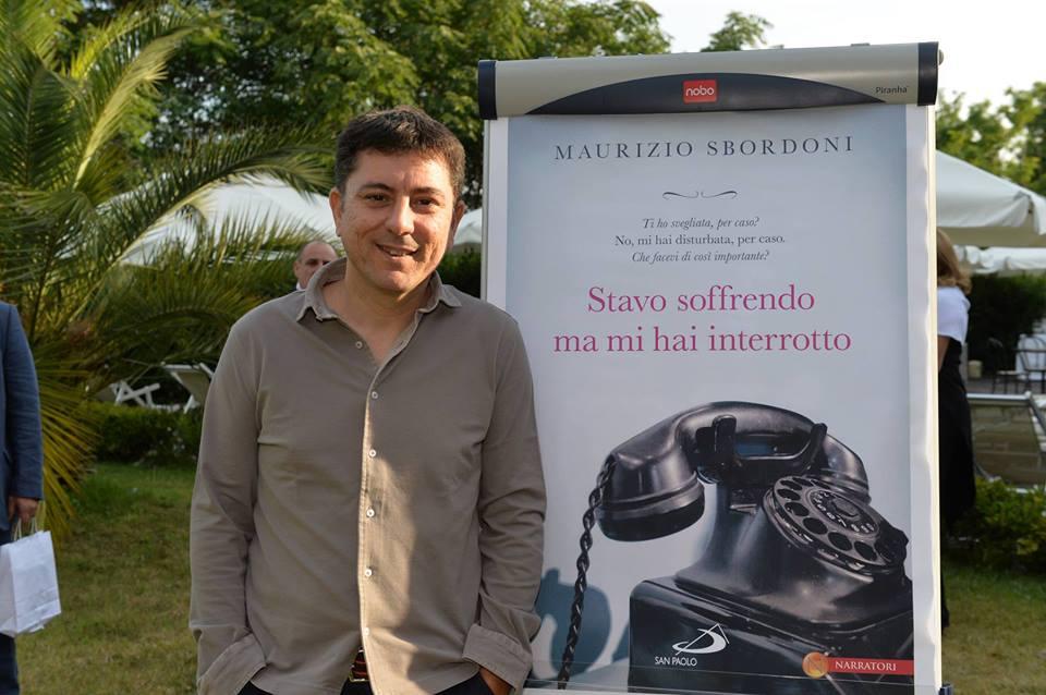 """Intervista di Roberto Lirussi a Maurizio Sbordoni ed al suo libro """"Stavo soffrendo ma mi hai interrotto"""""""