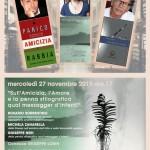 """""""Sull'amicizia, l'amore e la penna stilografica… qual messager d'intenti"""", 27 novembre, Roma"""