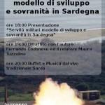 Servitù militari in Sardegna: presentazione del libro di Fernando Codonesu, 30 gennaio 2014, Cagliari