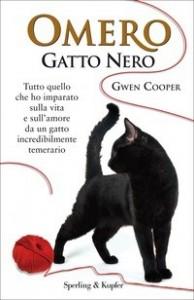 Omero Gatto Nero Libro Di Gwen Cooper La Storia Di Un Gatto Cieco