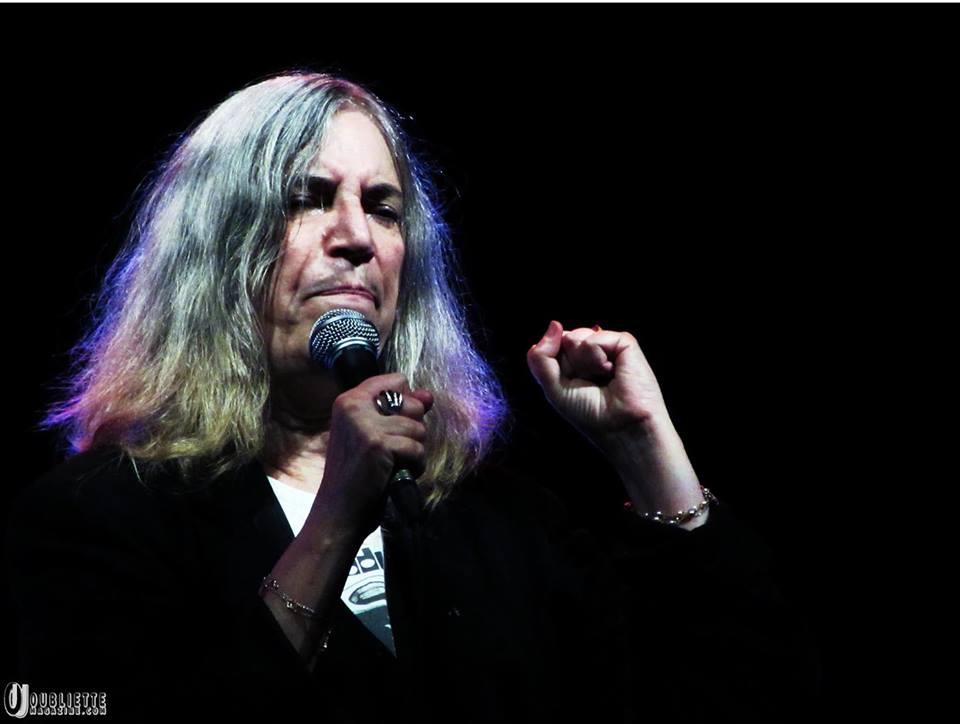 Patti Smith ha aperto il tour italiano davanti a 1500 spettatori al Creberg Teatro di Bergamo
