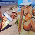 Tim Patch in arte Pricasso: l'uomo che dipingeva col… pene