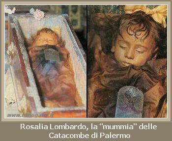 Rosalia Lombardo La Mummia Pi 249 Bella Del Mondo