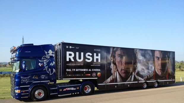 """""""Rush"""", un film di Ron Howard: dopo il Road Tour al cinema dal 19 settembre"""