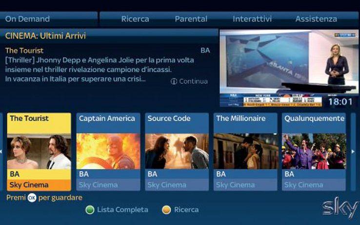 Sky On Demand gratuito per gli abbonati Sky: più di 2500 film, serie tv e intrattenimento