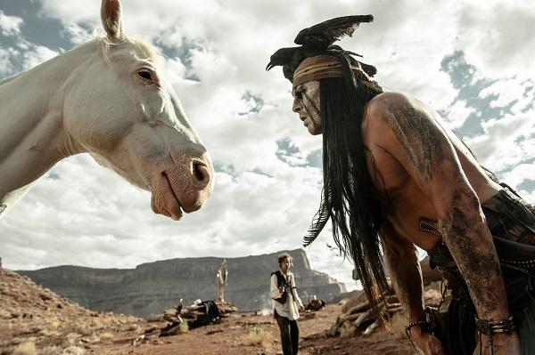 """""""The Lone Ranger"""" sorpassa """"World War Z"""" nella classifica dei film più visti al cinema per il week end 5 – 7 luglio 2013"""