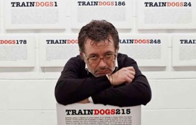 """""""TrainDogs"""": Fabio Palombo ed i suoi lunghi viaggi in treno, 6 luglio, Cagliari"""